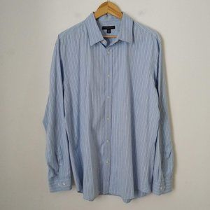Banana Republic Stripped Collar Button Down Shirt